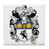Levi Coat of Arms Tile Coaster