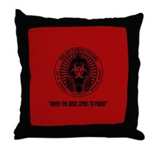 Purge Urge LOST Throw Pillow