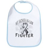 My Father-In-Law Is A Fighter Bib