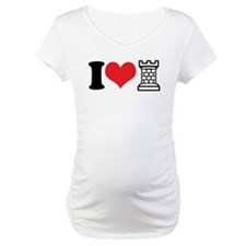 I Love Castle Maternity T-Shirt