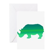 Rhino Greeting Cards (Pk of 10)