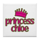 Princess Chloe Tile Coaster