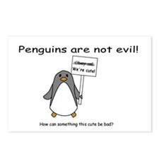 Non-Evil PenguinPostcards (Package of 8)