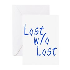 Lost w/o Lost Greeting Cards (Pk of 20)