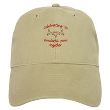 Cute 50th wedding anniversary Baseball Cap