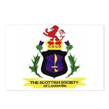 Scottish Society Goods Postcards (Package of 8)