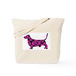 Basset bag: Flowery basset