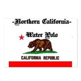 Nor-Cal Water Polo Flag Postcards (Package of 8)