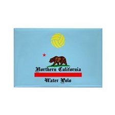 Northern California Water Polo Rectangle Magnet