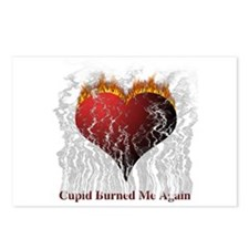 Cupid Burn Postcards (Package of 8)