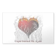 Cupid Burn Rectangle Decal