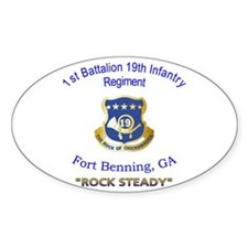 1st Bn 19th Inf Decal