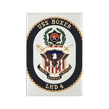 LHD 4 USS Boxer Rectangle Magnet