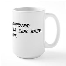 Computer: Tea. Earl Gray. Hot. Mug