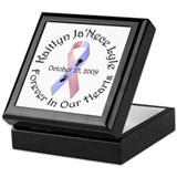 Kaitlyn Ribbon Keepsake Box