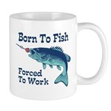 Funny Fishing Small Mug