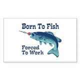Funny Fishing Decal