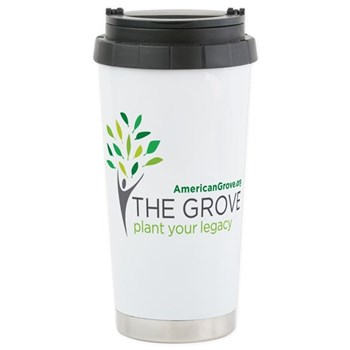 American Grove Stainless Steel Travel Mug