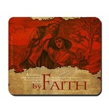 By Faith: Abraham and Isaac (Mousepad)