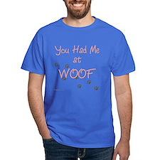WOOF (pink) T-Shirt