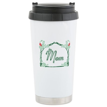 Mom Tattoo Style Ceramic Travel Mug