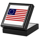 Betsy Ross Flag Memory Box