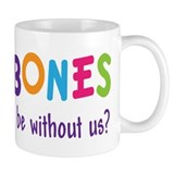 Funny Rainbow Band Trombone Small Mug
