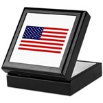 American Flag Memory Box
