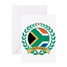 South Africa Wreath Greeting Card