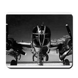 Retro B-25 Mousepad