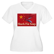 Cute Anti finning T-Shirt