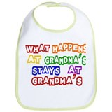 What Happens at Grandma's Sta Bib