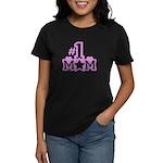 #1 Mom Women's Dark T-Shirt