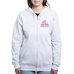 #1 Mom Women's Zip Hoodie