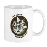 Official Gunsmoke 55th Anniversary Coffee Small Mugs