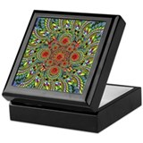 Spiral Fruit Mandala Keepsake Box