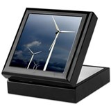 Rainbow Wind Turbine Keepsake Box
