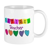 retired teacher Small Mug