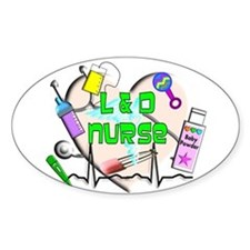 OB Nurse Decal
