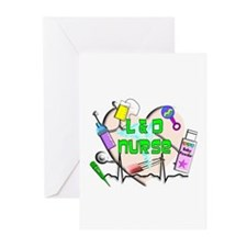 Labor & Delivery Nurse Greeting Cards (Pk of 10)