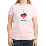 I *heart* Irvine Women's Pink T-Shirt