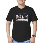 ER/Trauma Men's Fitted T-Shirt (dark)