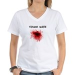 ER/Trauma Women's V-Neck T-Shirt
