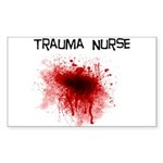 ER/Trauma Sticker (Rectangle 10 pk)