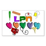 Licensed Practical Nurse Decal
