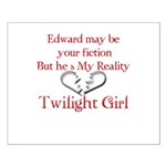 Edward Red Reality Small Poster