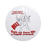 Cupid Ornament (Round)