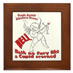 Cupid Framed Tile