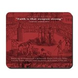Anne Askewe - Protestant Martyr (Mousepad)