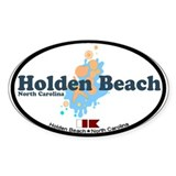 "Holden Beach NC ""Seashells"" Design Stick"